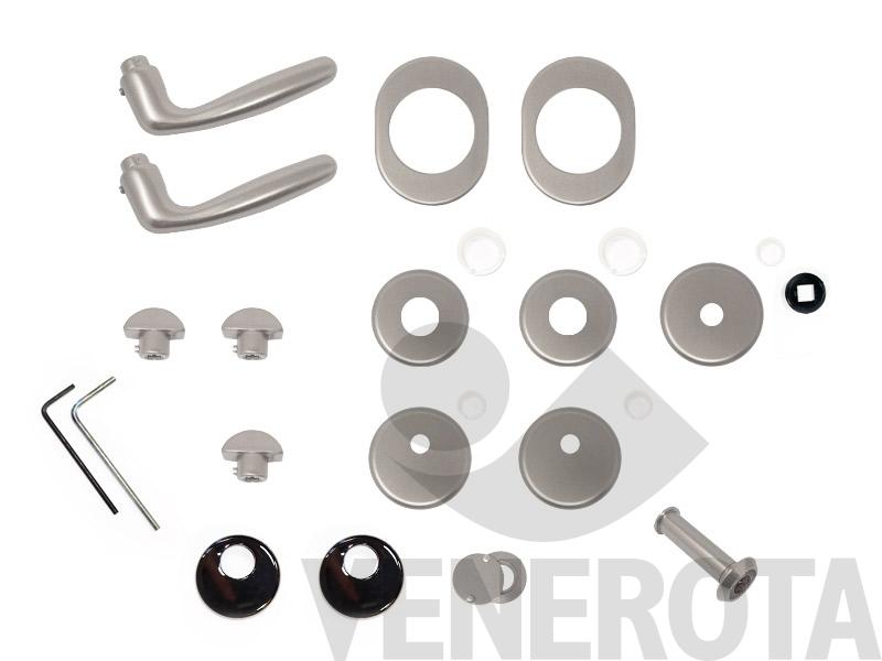 Kit maniglia maniglia per steel cy alias for Porte blindate alias modello steel