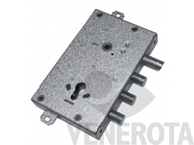 Serratura cilindro triplice applicare reversibile per for Porte blindate alias modello steel